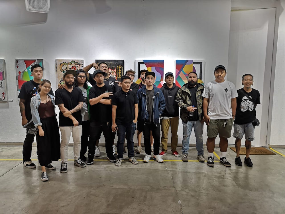 The Balasa group show at Secret Fresh was a who's who of street artists.