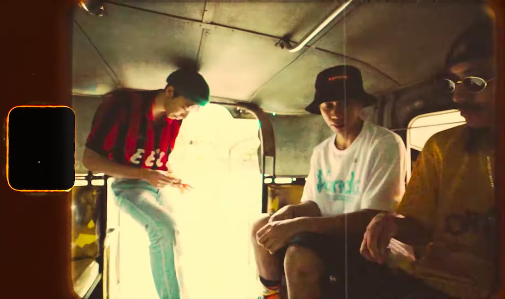 "Cebu City rapper Suez and Japanese rapper Farmboy of Shushiboys drop a music video for ""Jeepney"""